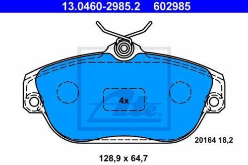 Original ATE 13.0460-2985.2 Bremsbelagsatz Scheibenbremse