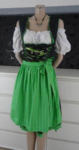 German  Austrian  3pc. Dirndl Dress Blouse Apron 1
