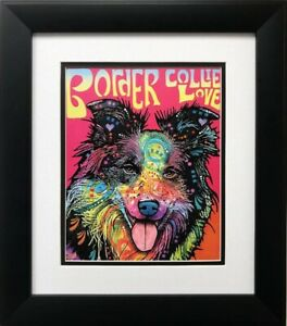 Border Collie by Dean Russo Dog Print 8x10