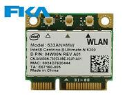 HP Intel 633ANHMW 572511-001 0E 802.11 AGN Wireless half height Mini PCI-E Card