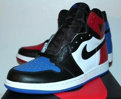 Air Jordan Retro 1 I Top 3 Blue Red