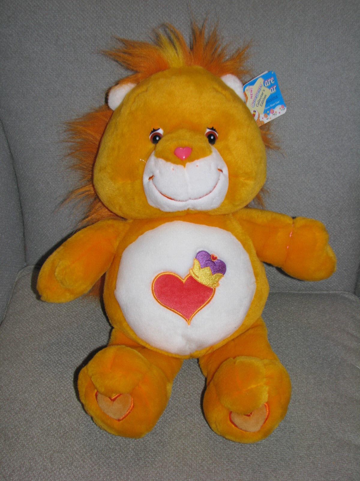 2004 PLAY Alungo TCFC STUFFED PLUSH autoEorso autoE orso COUSIN BRAVE HEART LION 20