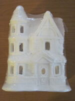 California Creations Beacon Hill Home Se160 Holiday Christmas Village Unpainted