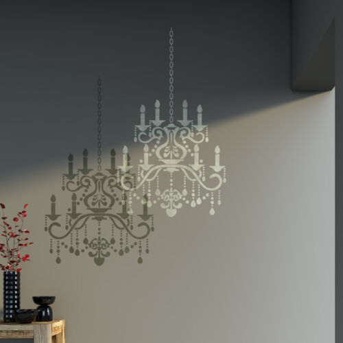 Pared stencil Araña De Cristal plantilla para bricolaje decoración-Mejor que calcomanías