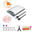 miniature 1 - Boitier Disque Dur Externe transparent USB 3.0 2.5 pouces pour SATA HDD et SSD