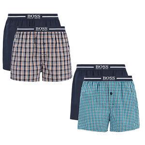der Verkauf von Schuhen beste Auswahl an großhandel online HUGO BOSS 2er Pack Herren Web-Boxershorts, Woven Shorts, uni ...