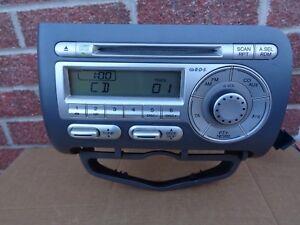 Honda Jazz Radio Stereo Cd Player 39100 Saa G410 M1 2002 2008 Ebay