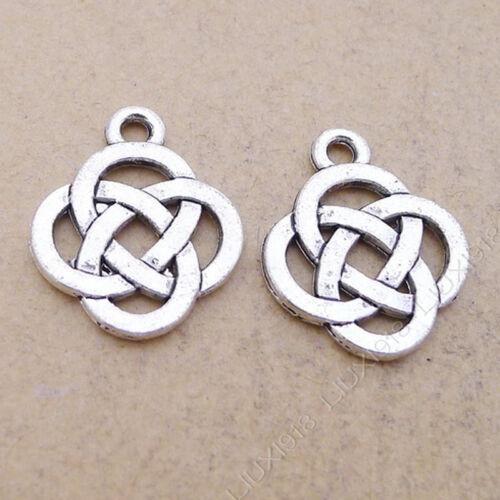 25 x 17mm Tibetan Silver Music Note Charms Jewellery Pendants Beading L60