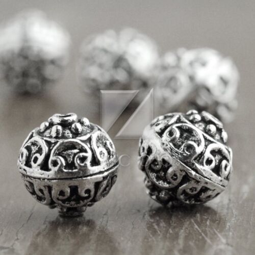 6-400pcs Lots Tibetan Silver Loose Charm Metal Spacer Bead 38 Style Jewelry