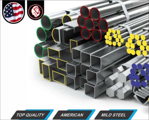 "Metal Stock 1//8/"" x 2/"" Steel Flat Bar 12/"" Long Plain Finish"