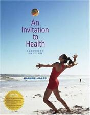 An invitation to health by dianne hales 2004 paperback revised an invitation to health with profile plus 2005 health fitness and wellness stopboris Gallery