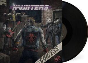 Confess-Haunters-LP-2017-black-vinyl-Glam-Sleaze-Metal-Crashdiet