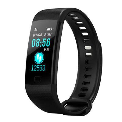 Y5 Bluetooth Smart Watch Blood Pressure Heart Rate Monitor Sport Fitness Tracker