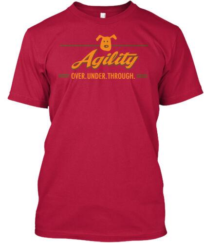 Printed Agility Over Under Through Standard Unisex Standard Unisex T-shirt