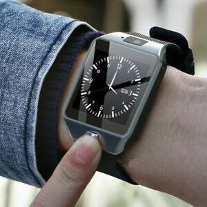 NEU Blue-tooth Smart Watch & Phone mit Kamera für iPhone Samsung LG HTC Huawei