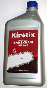 Kinetix-Chainsaw-Bar-amp-Chain-Oil-for-Echo-Husqvarna-Poulan-Stihl-1-Quart-Bottle