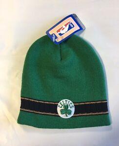 45aeddec3ec Boston Celtics Knit Beanie Toque Skull Cap Winter Hat NEW NBA Black ...