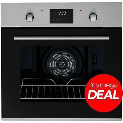 MyAppliances REF28755 60cm Built-in Electric Multifunction Oven Stainless Steel