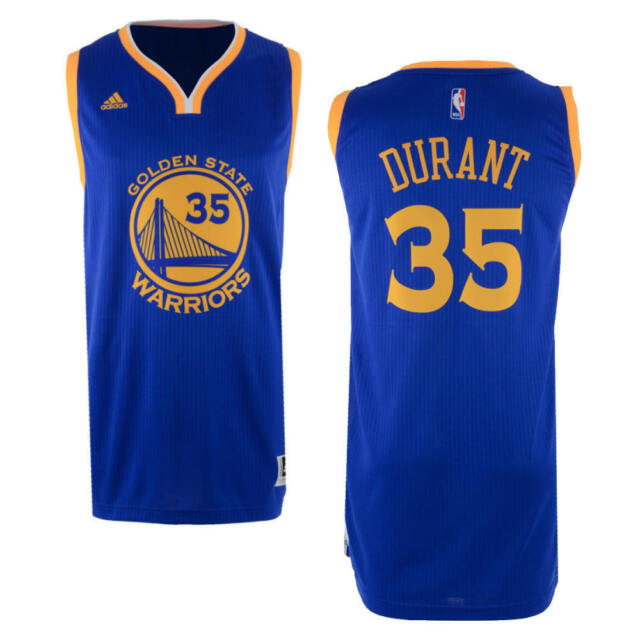 new concept a323e bbfe6 Golden State Warriors adidas Swingman Kevin Durant Jersey Sz Large 2