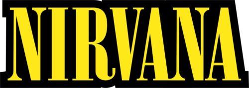 logo full color indoor//outdoor Nirvana Vinyl Sticker Decal