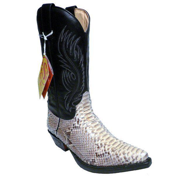 risparmia fino al 30-50% di sconto Sendra stivali stivali stivali Stivali 2605 Phyton Nero  autorizzazione ufficiale