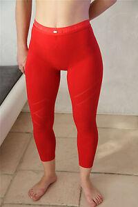 joli-legging-rouge-HIGH-USE-taille-38-M-NEUF-ETIQUETTE