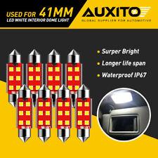 8x Auxito 41mm Festoon Led License Interior Light Bulbs 6411 560 569 578 211 2 G