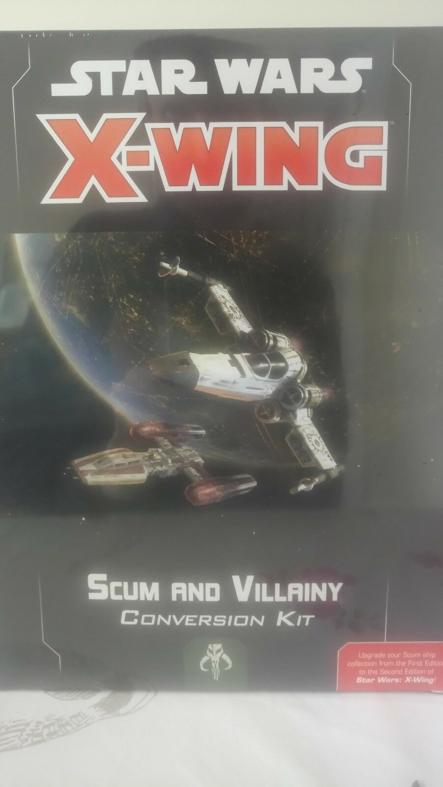 Star Wars X-Wing 2.0 Scum and Villainy Conversion Kit New and Sealed