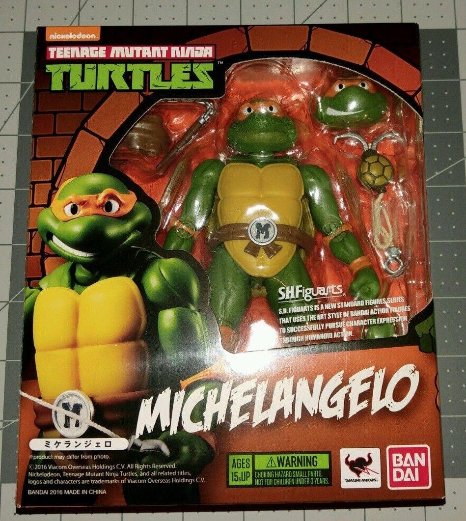 Bandai S.H. Figuarts Teenage Mutant Ninja Turtles 5  figura de acción-Michelangelo