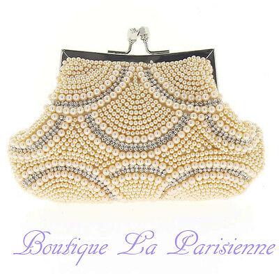 Luxus Abendtasche Handtasche Perlen Kristall Tasche Schultertasche Brauttasche Spezieller Sommer Sale Damentaschen Braut-accessoires