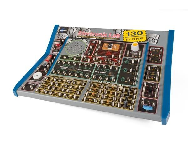 VELLEMAN  EL1301 130 IN 1 ELECTRONIC LAB KIT, MADE IN USA