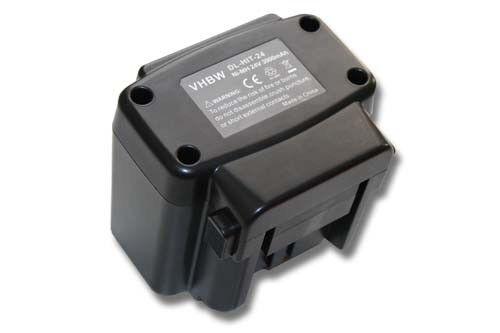 DV 24DVKS DV 24DVA original vhbw® AKKU 24V 3000mAh für Hitachi DV 24DV