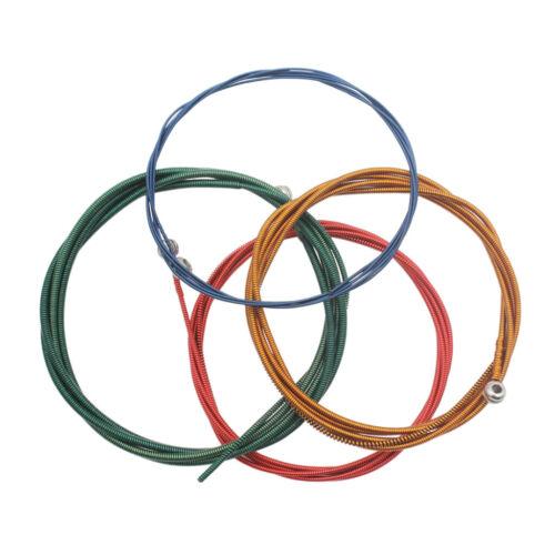 1 Set Nickel Platte Enden Ball String Musikinstrument Teile für Bass Teile