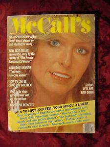 McCALLS-Magazine-October-1977-Farrah-Fawcett-Catherine-Deneuve-John-Fowles