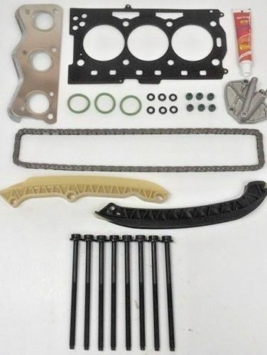 FOR VW POLO VW FOX 1.2 6V HEAD GASKET SET /& HEAD BOLTS SET /& TIMING CHAIN KIT
