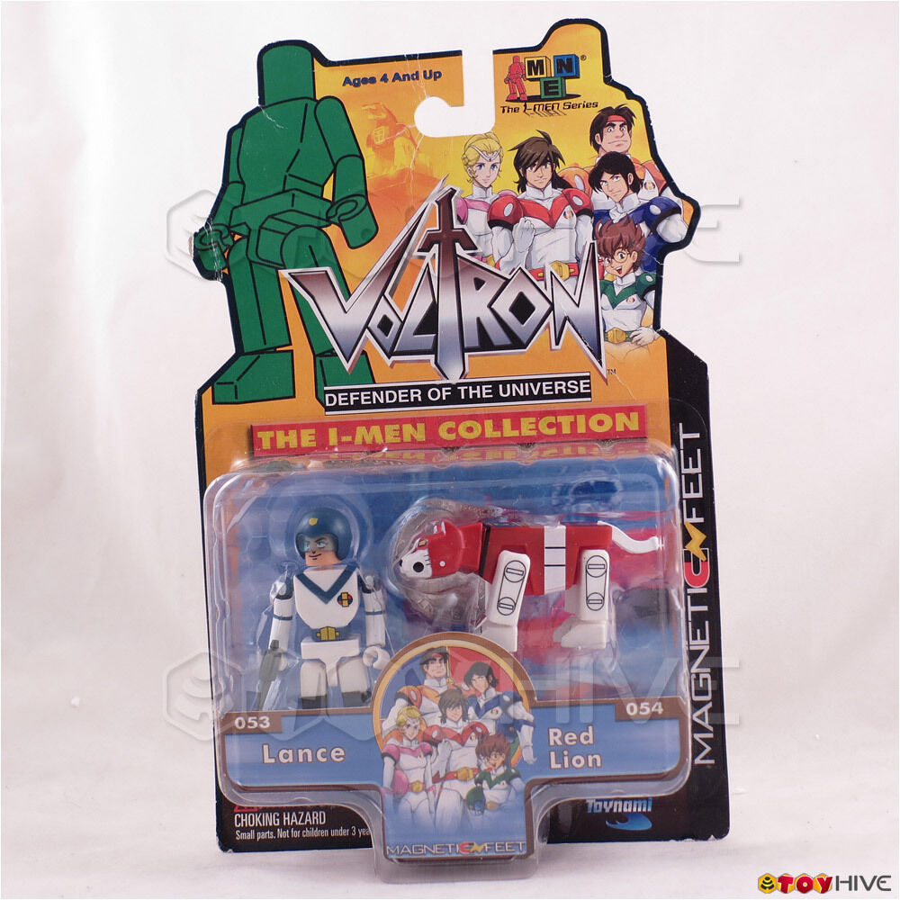Voltron Defender of the Universe - Lance & ROT Lion - Toynami I-Men Collection