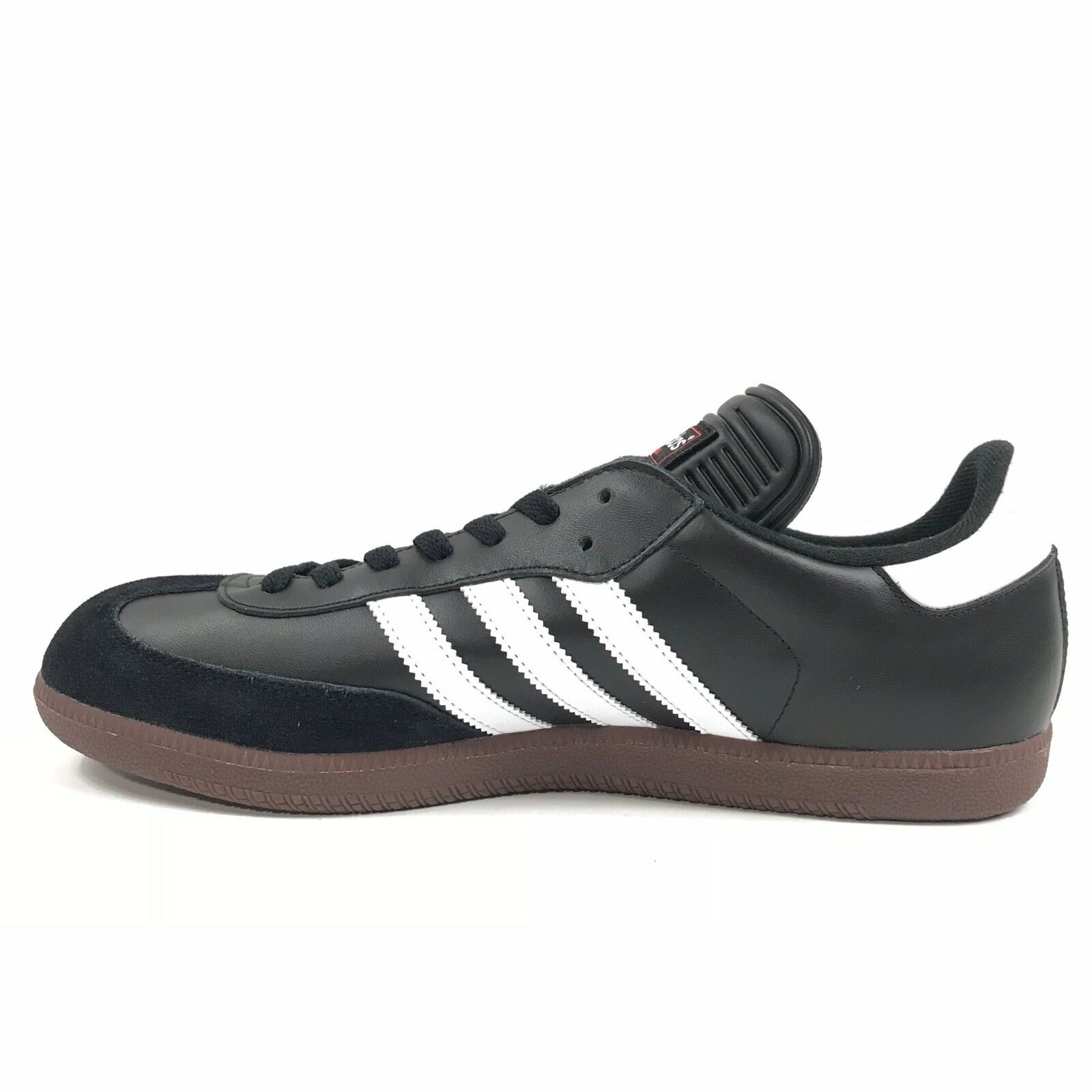 NWOB Adidas Mens Samba Classic Casual Soccer Soccer Soccer Athletic shoes Black White Sz 11.5 0caf25