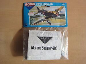 TOP!!! NOVO F157 Morane Saulnier 406 1:72 OVP!!! - Deutschland - TOP!!! NOVO F157 Morane Saulnier 406 1:72 OVP!!! - Deutschland