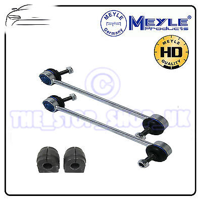 FRONT ARB ANTIROLL SWAY BAR LINKS AND MEYLE BUSHES PAIR FOR PEUGEOT 307 2000