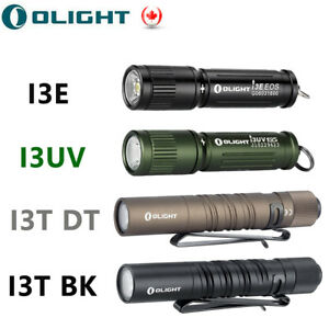 High Power Olight LED Flashlight AAA Battery Waterpoorf Handheld  Slim Torch