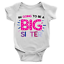 Going To Be A Big Sister Babygrow New Addition Family New Born Gift Present