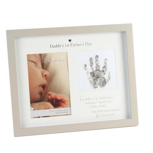 Bambino Unisex Handprint Photo Frame /& Ink Pad