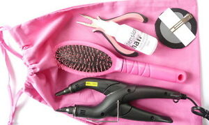 Extension-de-cheveux-Bond-KIT-POUR-APP-enlevement-pre-colle-avec-instructions