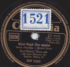Errol Garner Trio 1950 : How High the Moon