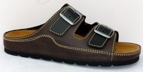 "Taille 40-48 ++ + NEUF Chaussures Hommes Bio Mules /""Big Dream/"" en Cuir Semelle Intérieure"
