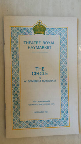 Theatre Royal Haymarket: Googie Withers - Bill Fraser - J Mccallum in THE CIRCLE