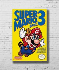 Art Super Mario vs Bowser Koopa Game Canvas Fabric Poster 1340