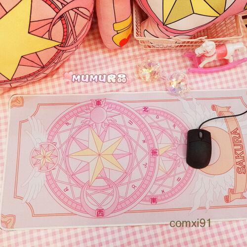 HOT stile carta CARCERIERE SAKURA oversize scrivania Tappetino Extra Large Mouse Pad Gaming Regalo
