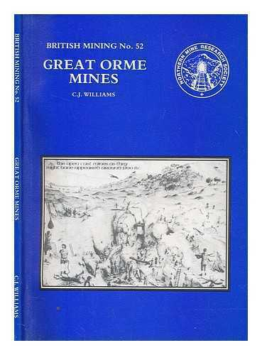 A history of the Great Orme Mines: from the Bronze Age to the Victorian age /...