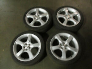 jdm oem subaru legacy 04 09 17x7 55 5x100 factory 5 spoke silver rims wheels ebay details about jdm oem subaru legacy 04 09 17x7 55 5x100 factory 5 spoke silver rims wheels
